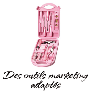 Des outils marketing adaptés